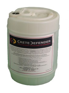 5 GALLON CONCRETE SEALER CRETEDEFENDER