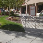 shopping center sidewalks protected with permanent penetrating concrete sealer